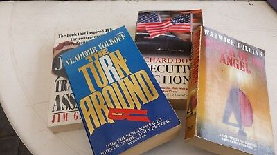 Bulk Lot 100 (One Hundred) Fiction Paperback Books Mystery, Espionage, Crime,