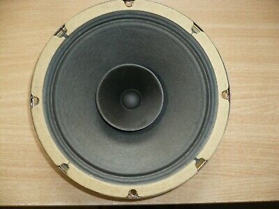 "Vintage Rola 8"" Twin Cone Speaker - In Excellent Condition - 10 Watts @ 15 Ohms"