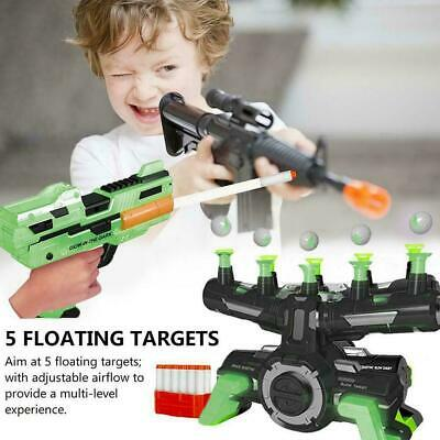 Air Shot Hovering Glow in the Dark Balls Shooting Game Toys For Kids Gifts I3B9