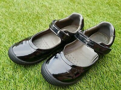 Beautiful Leather Shoes for Girls, Black School Shoes from GEOX