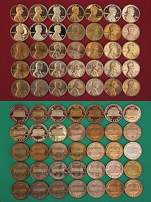 1970 1971 1972 1973 1974 1975 1976 1977 1978 1979 Proof Cents Flat Rate Shipping
