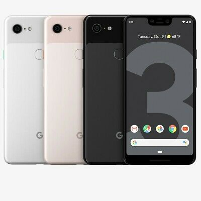 Google Pixel 3 XL 64gb 128gb White Black Not Pink Unlocked Great Phone Discount!