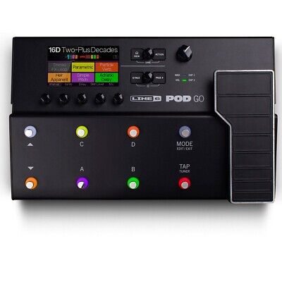 PREORDER Line 6 POD GO Guitar Amp, Cabinet, and Effects Modeler w/ HX Effects