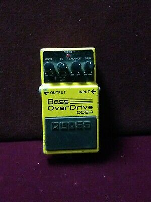 Boss Roland ODB-3 Bass Over Drive Overdrive Guitar Effect Pedal ODB3