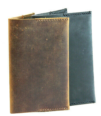 """Leather Journal Cover Field Notes Moleskine Leather Cover for 3.5""""x5.5"""" notebook"""