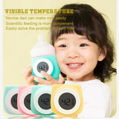 Portable Infant Baby Milk Bottle Temperature Digital Display Thermometer 2019