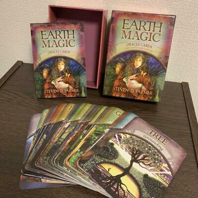 Earth magic oracle card english 48 Sheet With Japanese Instruction