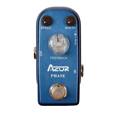 AZOR AP-301 Phase Mini Guitar Effect Pedal Classic Analogue Phaser True Bypass