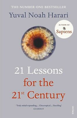 Yuval Noah Harari 21 Lessons for the 21st Century Paperback