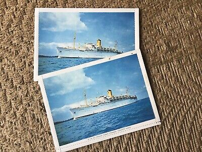 Two Unused P&O Lettercards. Oriental Liner CHUSAN