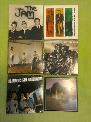 Music collection, The Jam, incl. The Gift, Setting Sons, All Mod Cons