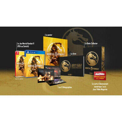 PS4 - NEUF - Mortal Kombat 11 - Edition Collector Omake Games Limitée 200 NEUF