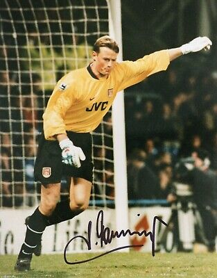 Alex Manninger Autograph, Arsenal Football Club