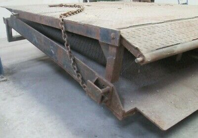 Dock Levellers Steel Ramps Forklift Truck Load Unloading Containers 228 x 207 cm