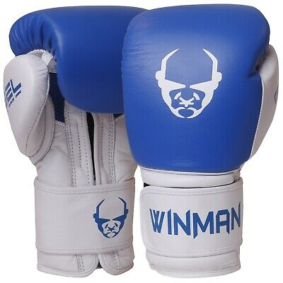Boxing Gloves Training Muay Thai Sparring Punching Kickboxing Fighting Mitts BW