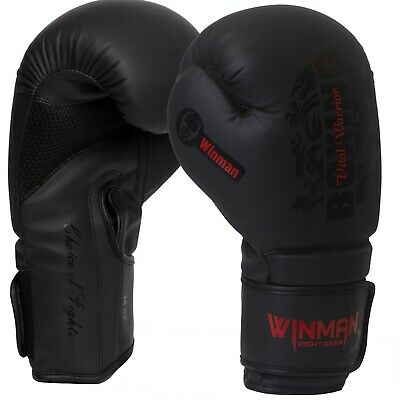 Boxing Gloves Training Muay Thai Sparring Punching Kickboxing Fighting Mitts BD