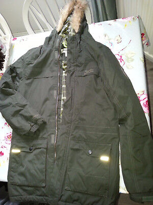 Boys Regatta Coat Size 34 Inches Eur 176 Height 164cms