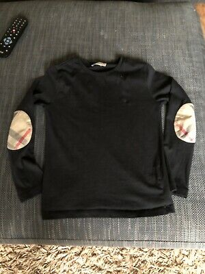 Boys Burberry Long Sleeve Tshirt Age 8-9-10