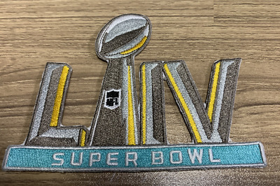 2020 Super Bowl 54 LIV Embroidered Ironed on or Sewn On Patch IN STOCK