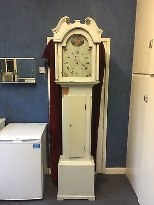 Longcase Grandfather 30 Hour  Clock - Polack - Sheffield - Early 19th Century