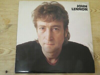 John Lennon Vinyl LP Album Record - THE JOHN LENNON COLLECTION - EMI 1982 EMTV37