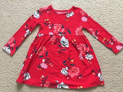 Old Navy Toddler Girls Long Sleeve Red Dress Shirt Size 5T