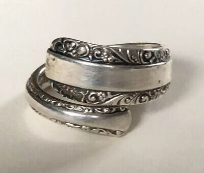 Sterling Silver Spoon Ring - Towle / Candlelight - Approx. Size 7.5 - 1934