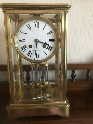 French Upright striking clock