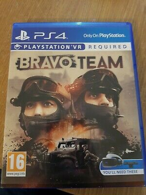 Bravo Team on PS4/VR in MINT Condition