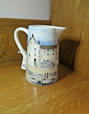 Creative Tops Cornish Harbour / Harbor Stoneware Jug with Tags [Nice Example]