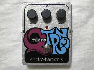 Used Electro-Harmonix EHX XO Micro Q-Tron Envelope Filter Guitar Effects Pedal