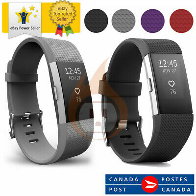 Fitbit Charge 2 Wireless Heart Rate + Fitness Wristband All Size and color