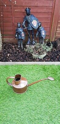 Vintage Haws Copper And Brass Watering Can