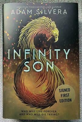 ADAM SILVERA Infinity Son SIGNED First Edition Hardcover