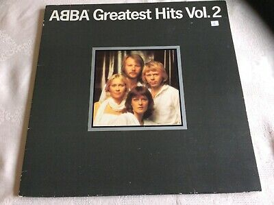 ABBA Greatest Hits Vol.2 12 inch Vinyl LP - Exc Condition/Sleeve Good EPC 10017