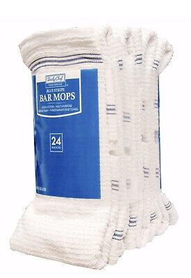 """Daily Chef Bar Mops, 16"""" x 19"""" (24 ct.) Restaurants Bars Home food Service New"""