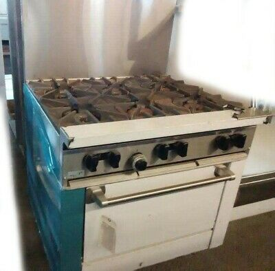 Garland US Range X36-6R Sunfire Natural Gas Stainless Steel Range With Oven NEW