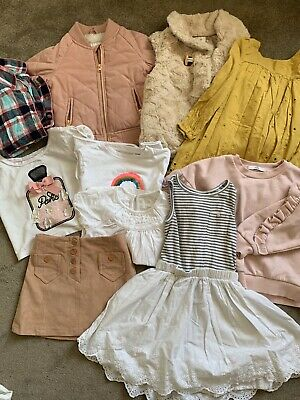 Girls Bundle 4-5 Years Next Summer / Skirt / Dress / Pjs / Coat M&S