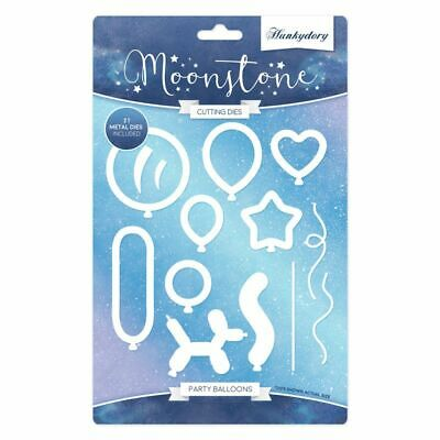 Hunkydory Moonstone - PARTY BALLOONS Die Set - 21 Dies - MSTONE163