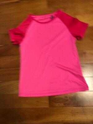 Pink Girl's Star Sport T-shirt Age 11 To 12 Years From Marks And Spencers
