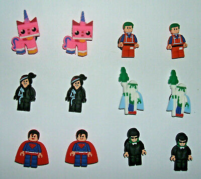 SHOE CHARMS (Y1) - CARTOON CHARACTERS inspired by MOVIE HERO (12H) - Pack of 12