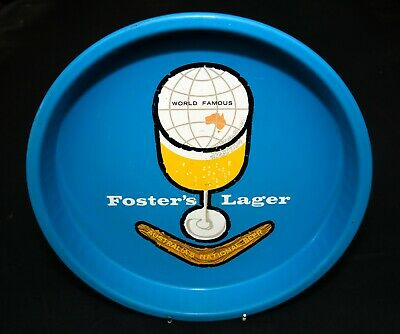 Vintage Foster's Lager Beer Tray