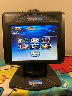 MEGATOUCH ION 2012 VIDEO GAME W/15 Inch SCREEN, UPGRADED MOTHERBOARD & SSD