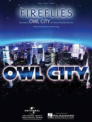 Owl City All Things Bright and Beautiful Sheet Music Piano Vocal Guita 000307322