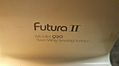 Futura II Singer Sewing machine model 920 two way sewing surface With foot Pedal