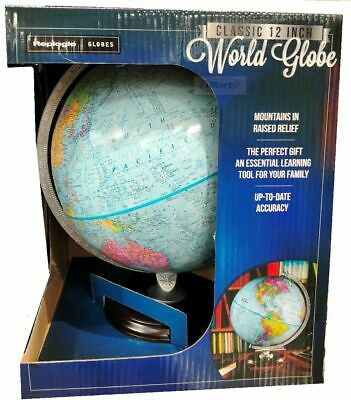 "Replogle 12""/30cm World Globe ideal for home school or office"