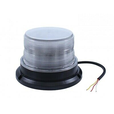 12 High Power Led 9V-36V Beacon Light - Permanent Mount