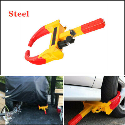 Wheel Lock Clamp Boot Tire Claw Trailer Auto Car Truck Anti-Theft Towing Part