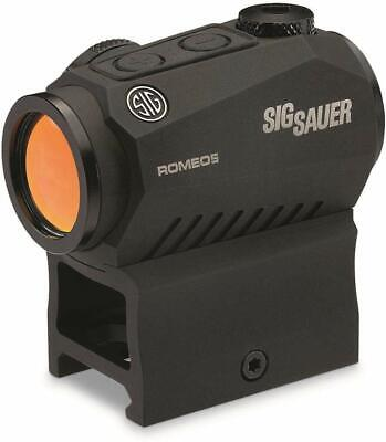 Sig Sauer Romeo5 1x20mm 2 MOA Red Dot Sight and Mount-- SOR52001