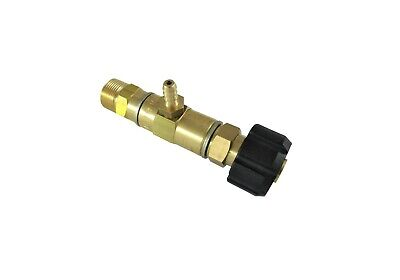 Pressure Washer P.A Chemical Injector Brass Low Pressure M22 connections